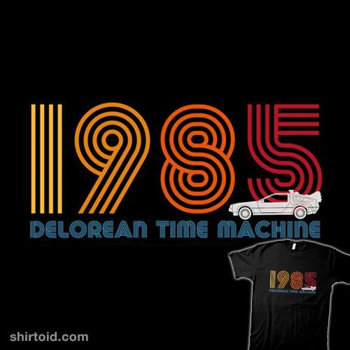 1985 DeLorean Time Machine