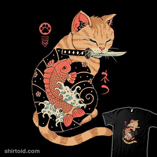 Carp Tattooed Cat