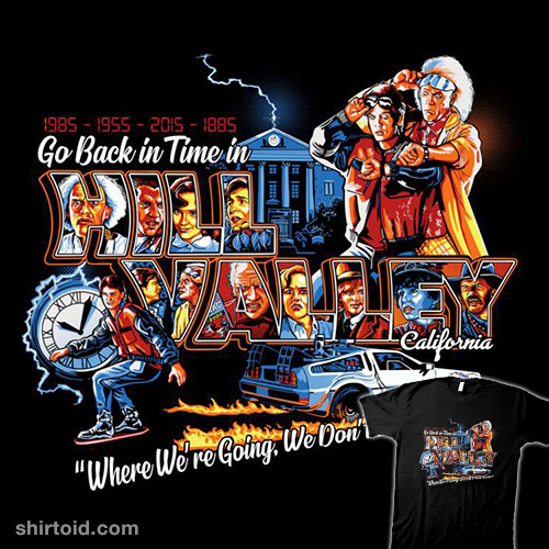 Go Back in Time in Hill Valley