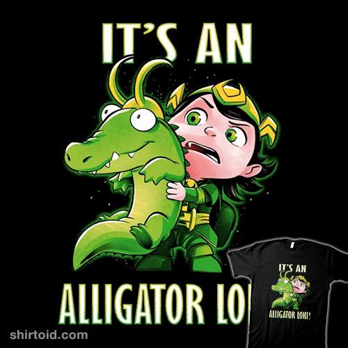 It's An Alligator Loki!