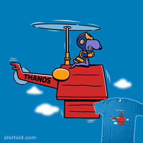 Purple Beagle Copter