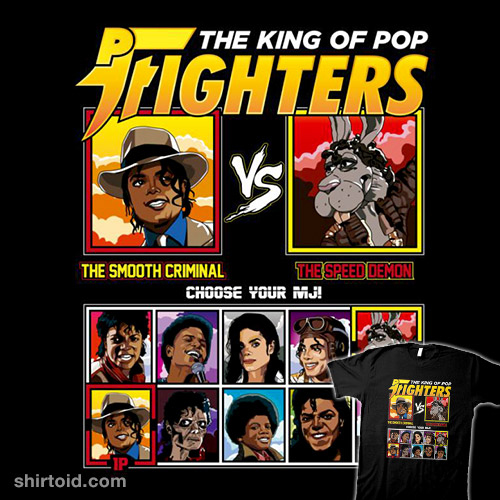 King of Pop Fighters – Smooth Criminal vs Speed Demon
