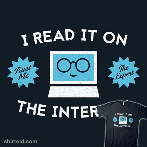 I'm an Internet Expert