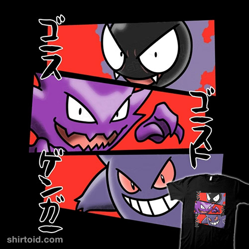 Kanto Ghosts
