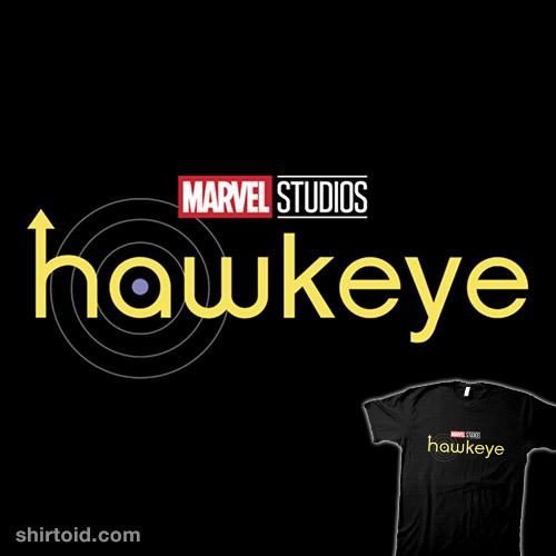 Marvel Hawkeye Yellow Logo