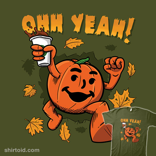 Pumpkin Spice Man
