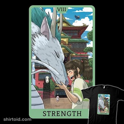 Tarot Ghibli Strength