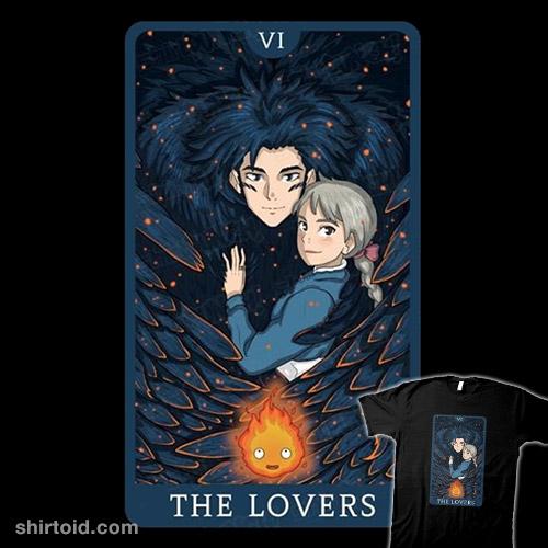 Tarot Ghibli The Lovers