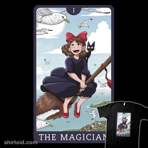 Tarot Ghibli The Magician