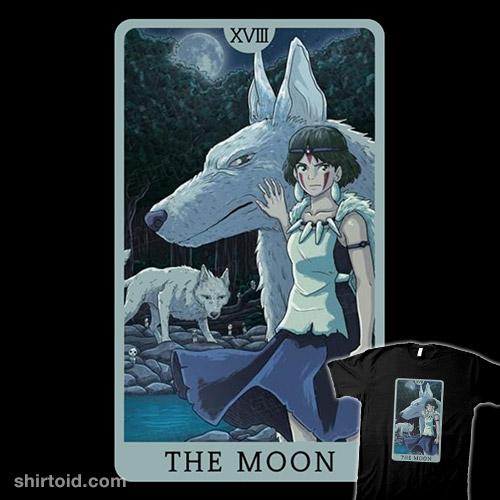 Tarot Ghibli The Moon