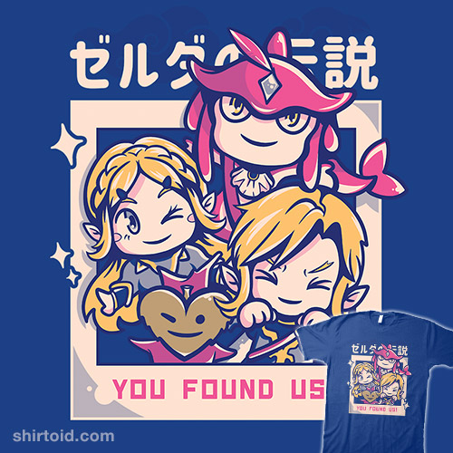 You Found Us